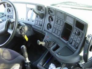 Cabine de camion pour chauffeur